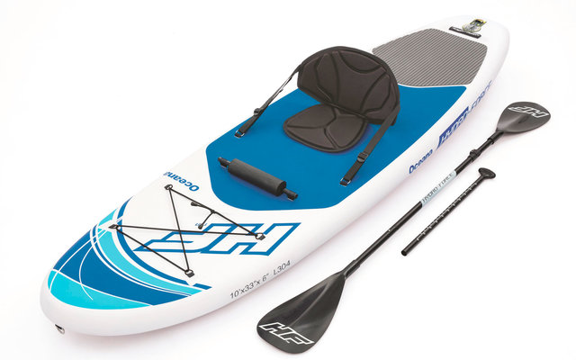 Bestway Stand Up Paddling-Board Oceana Set aufblasbar