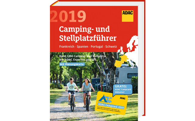 adac camping und stellplatzf hrer s d west europa 2019. Black Bedroom Furniture Sets. Home Design Ideas